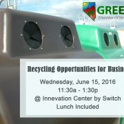 GCNV June 2016 Luncheon-Recycling Opportunities for Businesses