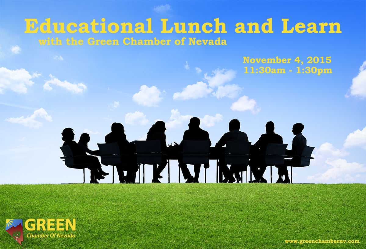 Educational Lunch and Learn with the Green Chamber of Nevada