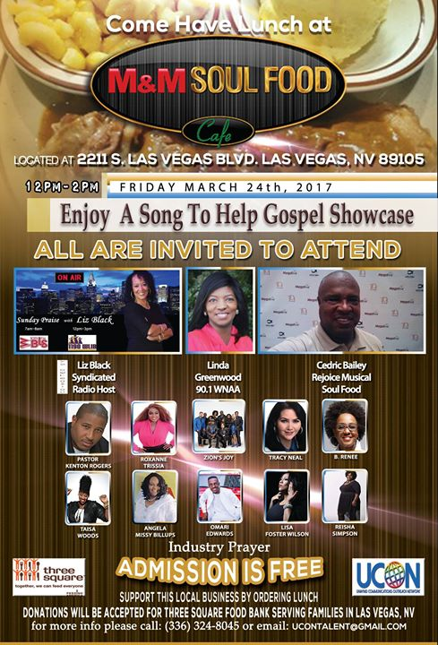 A Song To Help Gospel Showcase At M M Soul Food Cafe